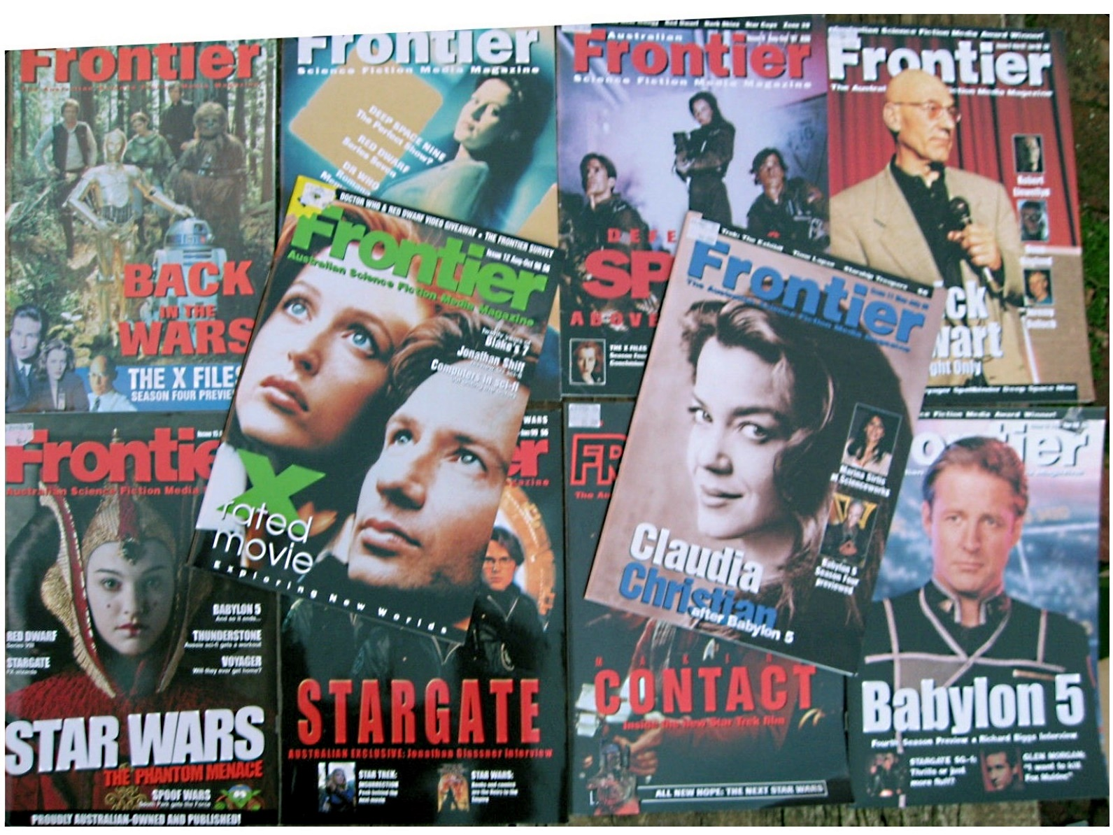 Frontier : The australian science fiction media magazine